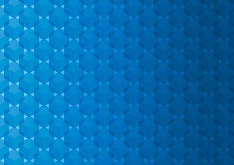 テクスチャ テクスチャー 背景 背景素材 バックグラウンド アブストラクト 壁紙 デジタル パターン キューブ 立方体 六角形 グラデーション デジタルイメージ 未来 光 バック サイバー インターネット ジオメトリック 青 ブルー スクエア 空間 整然とした 整列 模様 四角 柄 テクノロジー