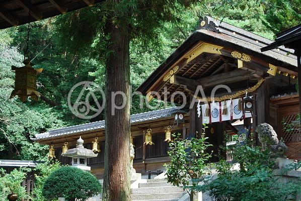 枚岡神社 拝殿1の写真