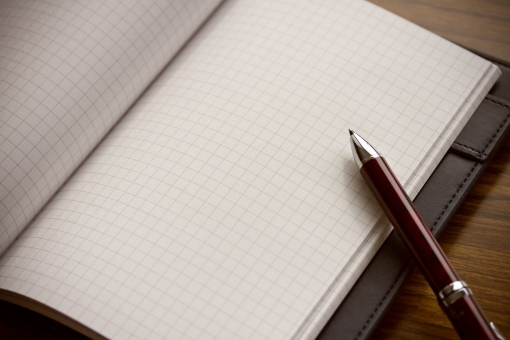 メモ 文具 筆記用具 ペン ボールペン 手帳 方眼紙 テキストスペース 背景