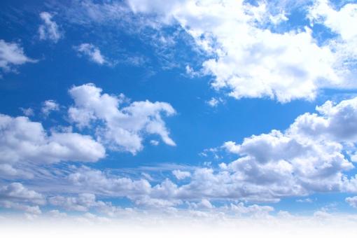 雲 背景 テクスチャー 晴れ 環境 エコ