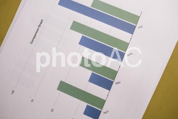 チャートグラフ・棒グラフ24の写真