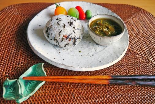 和食 ごはん 食べ物 料理 ひじきご飯 ひじき 朝食 定食