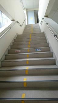 学校の階段の写真