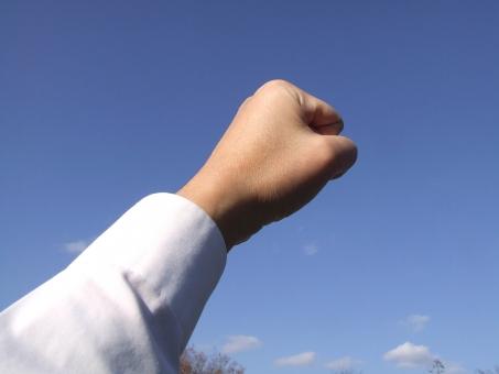 手 げんこつ 拳骨 こぶし 拳 握りこぶし 握り拳 腕 ビジネスマン サラリーマン 営業 ガッツ ガッツポーズ ゲンコツ グー ぐー 喧嘩 けんか ケンカ 競争 かちどき がんばり がんばる 頑張り 力 パワー パワフル 活力 エネルギッシュ 頑張る