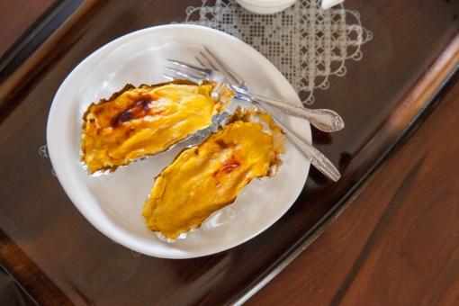 スイートポテト さつまいも サツマイモ お菓子 食べ物 スイーツ 手作り 家庭料理 フードフォト ほっこり 昭和 おやつ 菓子 安納芋 イモ料理 芋料理 甘い おふくろの味 レトロ 秋 旬
