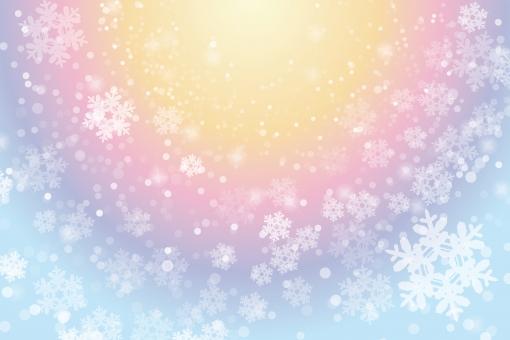 ファンタジー わくわく 夢 ワクワク 虹 きらきら キラキラ グラデーション 背景 バック バレンタイン クリスマス 雪 結晶 メルヘン 冬 12月 1月 2月 11月 テクスチャー テクスチャ 女性 かわいい カワイイ 華やか 美しい ポスター ビジネス 花