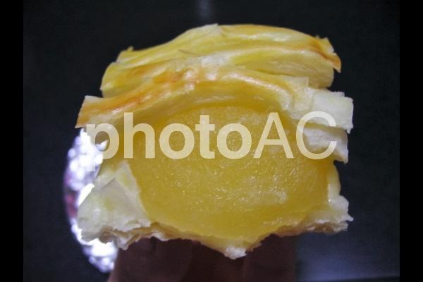 アップルパイの中身の写真