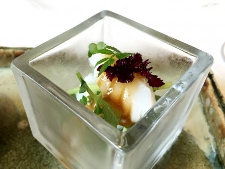 和食 創作 京料理 いか 梅 美味しい 柔らかい 上品 涼しい 冷たい 料理 前菜