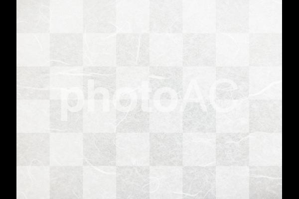 市松模様の和紙テクスチャ背景素材の写真