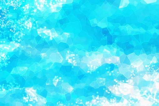 初夏 夏 氷 かき氷 冷凍 アイス 水 零度 ひんやり 冷たい 丸 円 ポストカード 暑中お見舞い 暑中見舞 お中元 はがき 印刷 光 ひかり 反射 テクスチャー テクスチャ 背景 素材 背景素材 キラキラ きらきら 青 水色
