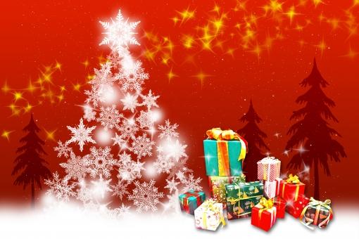 幻想的なクリスマス1 redの写真