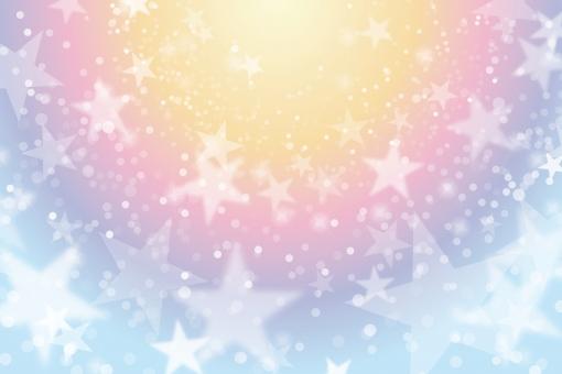ファンタジースターの輝き抽象背景素材テクスチャの写真