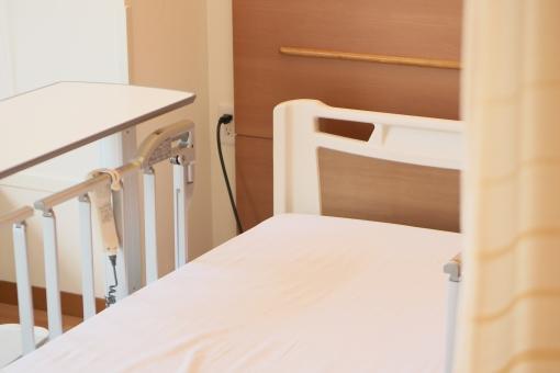 入院と介護 ベッドルームの写真