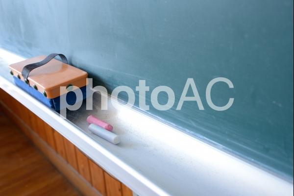 教室の黒板の写真