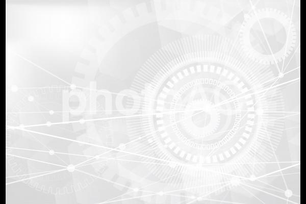 ホワイトテクノロジー抽象背景テクスチャ素材の写真