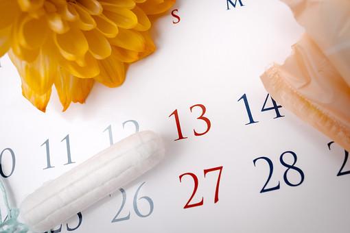 生理用品 生理 月経 経血 血  生理用 女性 性 女 女の子 女子 清潔 清潔感 身だしなみ 新品 新しい 未使用  カレンダー 暦 日にち 月日 予定日 生理予定日 周期 生理周期 タンポン 生理用ナプキン ナプキン 花 フラワー 黄色 黄 イエロー ワンポイント