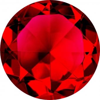ガーネット色クリスタルの写真