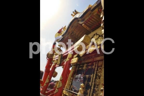 神輿の写真