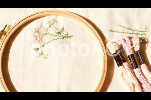 秋になったら刺繍 朝ドラブーム 子ども服の写真