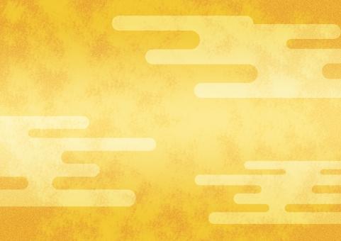 背景 背景素材 テクスチャ テクスチャー 金箔 金 ゴールド 雲 和柄 バックグラウンド 壁紙 和風 和 日本 伝統 伝統的な 模様 柄 クラウド 金屏風 派手な 賑やかな キラキラ 日本的な ジャパン きらびやかな 明るい 黄金色 黄金 雲海