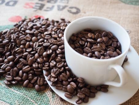 コーヒー Coffee 珈琲 コーヒー豆 ビーンズ カフェ 豆 コーヒーカップ ソーサー 麻布 麻袋 農産物 コーヒーショップ 豆粒 焙煎 焙煎豆 珈琲農園 農園 生産 ブラジル カフェイン 浅煎り 深煎り 香り コーヒーアロマ コーヒー農園 ステイン 褐色 飲む ドリンク