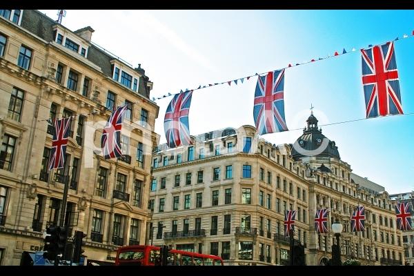 ロンドン街並みの写真