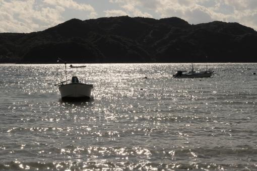 懐かしい海辺の風景の写真
