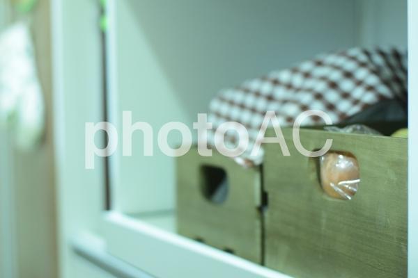 キッチン収納の写真