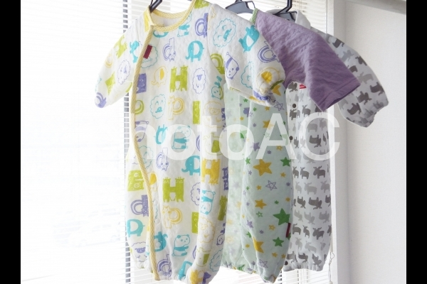 新生児の服 5の写真