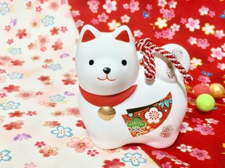 2018年 戌の干支飾り 戌の置物 お正月 戌 いぬ 犬 年賀の写真
