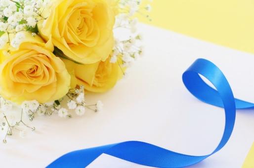 黄色いバラのテクスチャの写真
