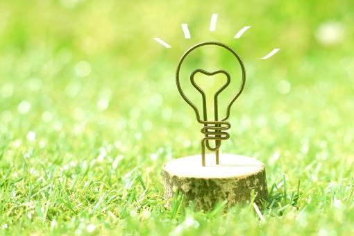 ワイヤーの電球の写真