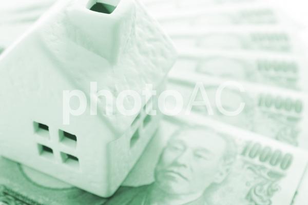 住宅ローン 緑の写真