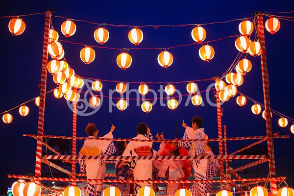夏祭り 櫓11の写真