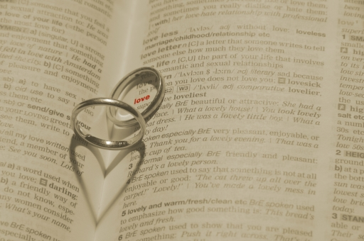 指輪 ハート 影 結婚 結婚指輪 love 愛 愛情 ウエディング ブライダル 新郎 新婦 花嫁 幸せ 幸福