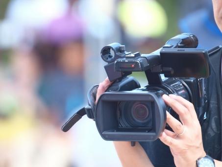 ビデオ カメラ 撮影 業務 プロ CATV 制作 運動会 行事 本格的 仕事 カメラマン
