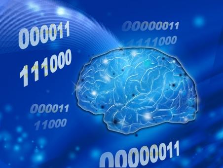 人工知能 AI ロボット 知能 脳 能力 テクノロジー 科学 ビジネス 演算 数学 考える 青 ブルー ネットワーク コンピューター 情報 ai データ プログラム