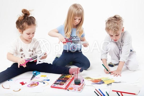 外国人の子供243の写真