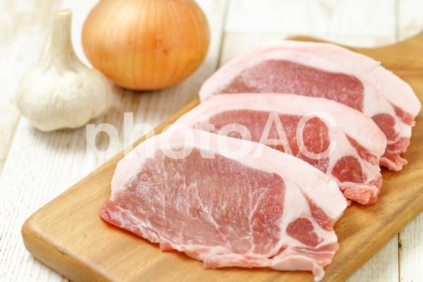 豚ロースの写真
