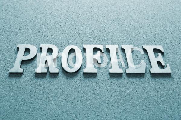 プロフィール 青の写真