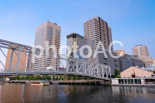 天王洲アイル ふれあい橋の写真
