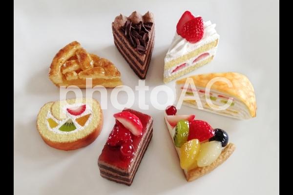 フェイクスイーツのケーキの写真