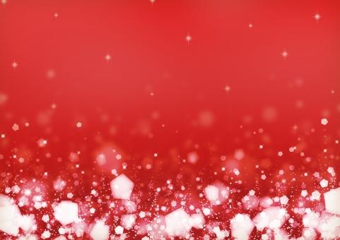背景 背景素材 テクスチャ 冬 ふゆ 雪 ゆき クリスマス Xmas フレーム 枠 パーティー 赤 キラキラ きらきら 輝き 光 ふんわり ふわふわ テキストスペース 模様 柄