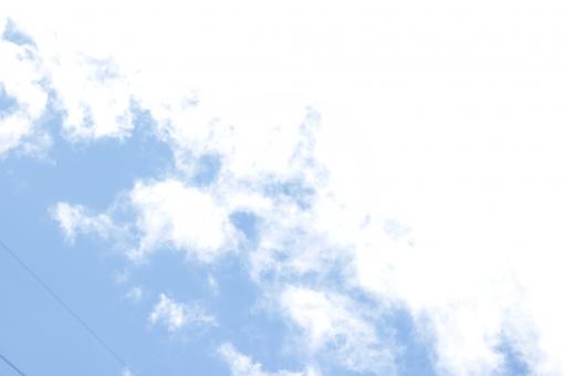 雲の多い空の写真