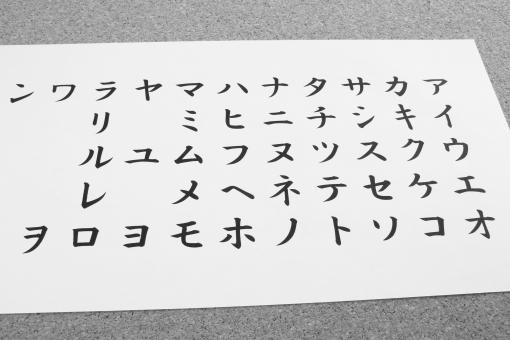 カタカナ 片仮名 カタカナ 日本語 日本人 外国人 学習 勉強 習得 習う 学校 覚える 暗記 発音 表現 50音 50音 五十音 五〇音 コトバ 言葉 ことば 発声 練習 読み書き 背景素材 katakana 背景素材 壁紙 KATAKANA