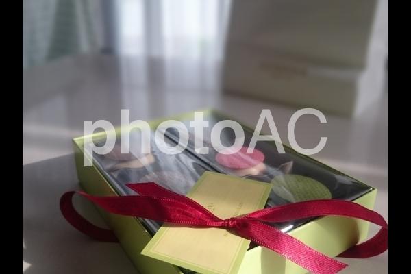 プレゼントボックスの中身の写真