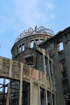 広島 hiroshima 原爆 重要文化財 観光 平和 戦争 廃墟 取り壊し 補修工事 第二次世界大戦 終戦 ポツダム 戦後 広電 路面電車 観光名所