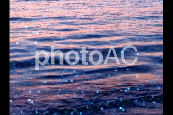 キラキラ光る海の写真