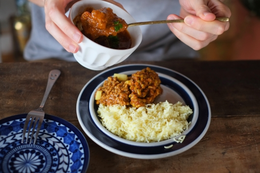 かれー カレー curry カリー まめ マメ インドカレー クミン クミンシード レンゲ いんどかれー インディカ米 インド米 米 ライス 食べる チキンカレー