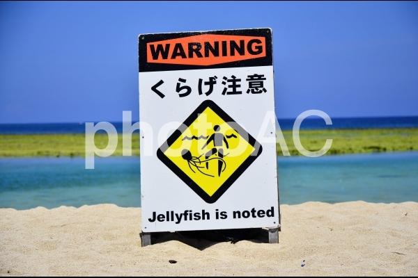 ビーチ 看板の写真